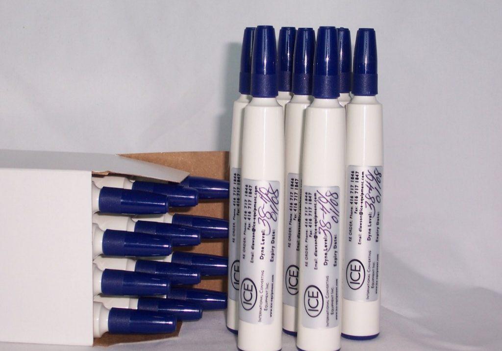 Quick Test Blue 38-40 Dyne pens Enviro friendly (2)