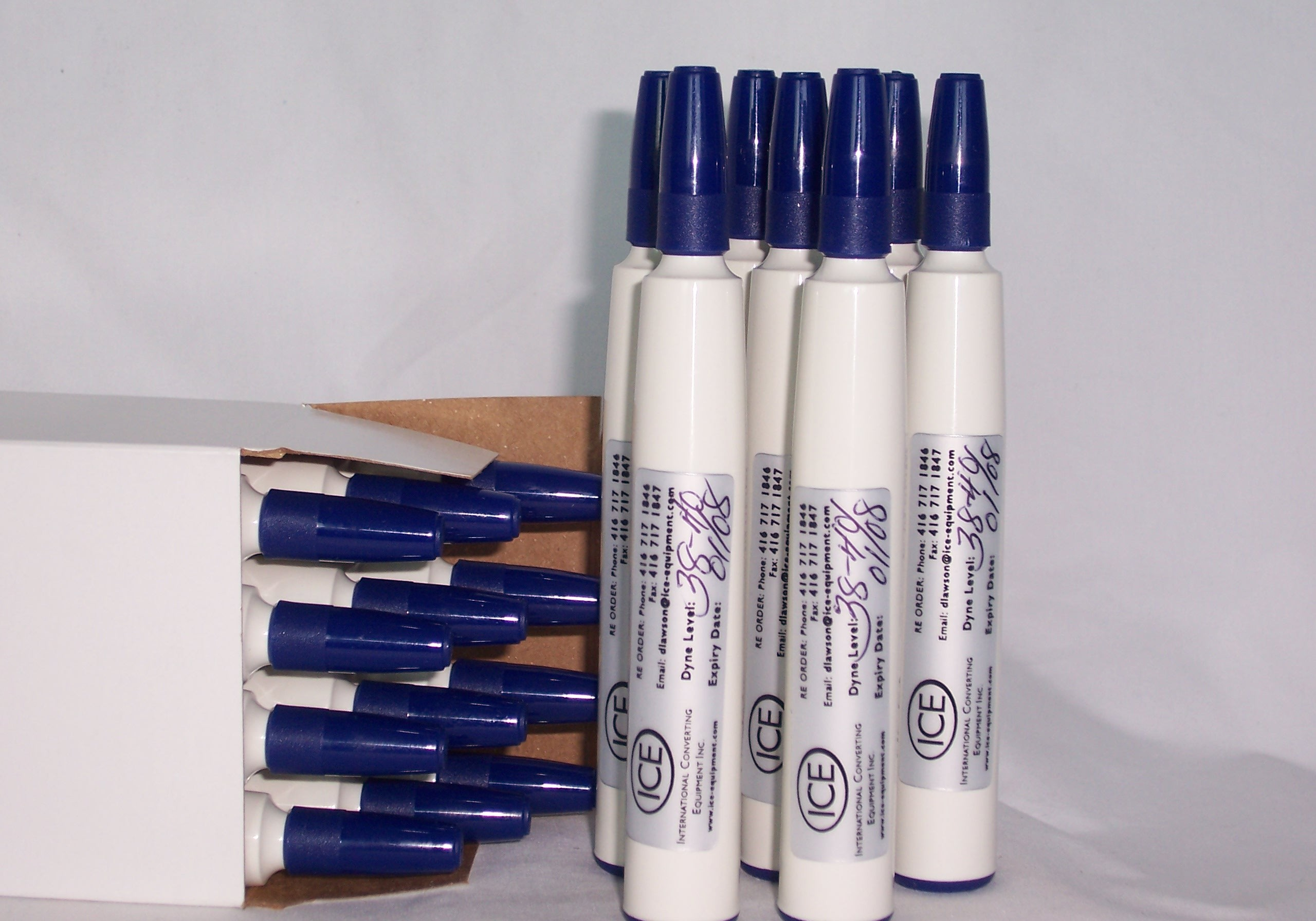 Quick Test Blue 38-40 Dyne pens Enviro friendly (2)